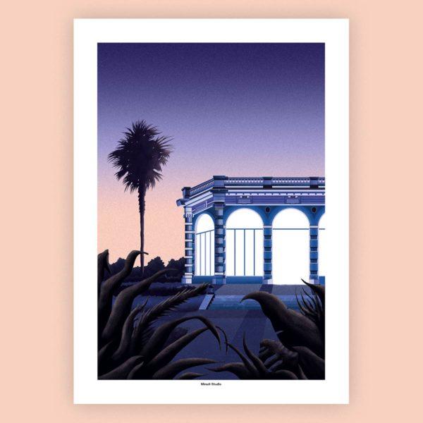 poster illustration orangerie thabor rennes