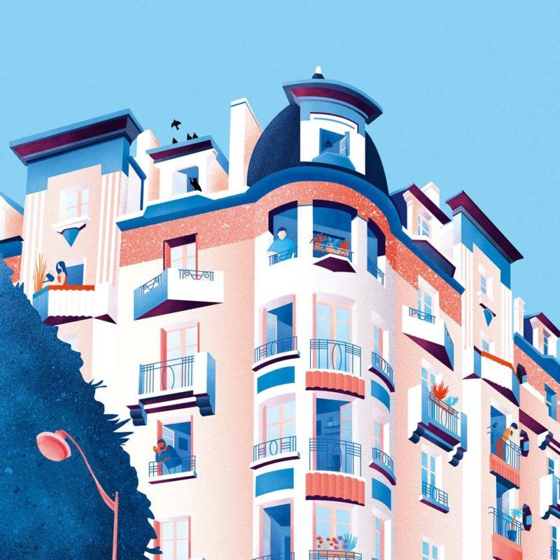 illustration immeuble odorico rennes