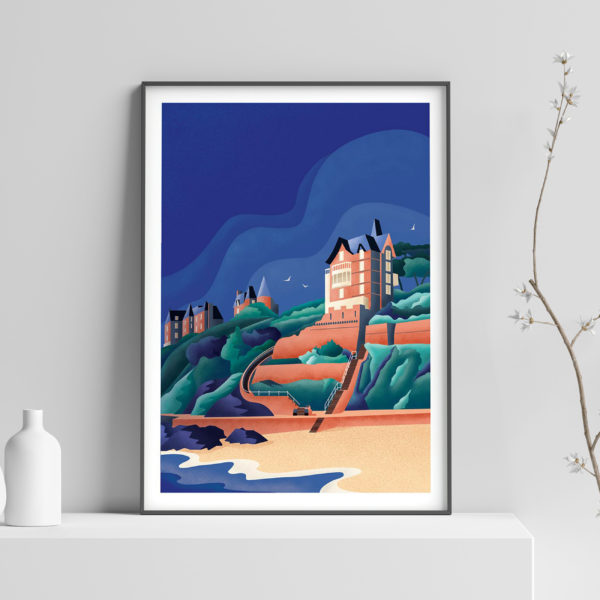 poster illustration dinard