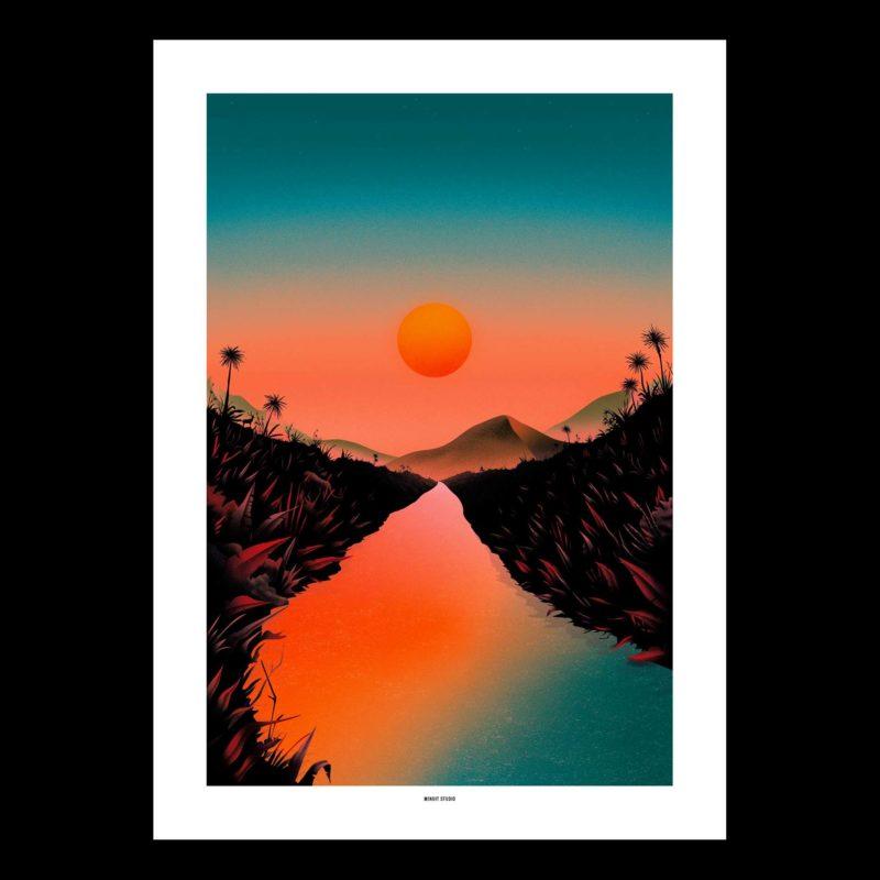 affiche design rennes sobre